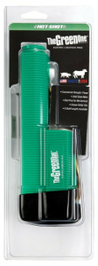 Hot Shot HUHSRC Green Handle Rechargeable Battery in Clam Shell