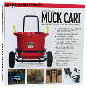 Little Giant CA500 Muck Cart With Pneumatic Tires
