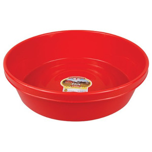 Little Giant P3RED 3 Gallon Red Plastic Utility Pan