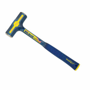 Estwing E6-48E 48oz Solid Steel Engineer's Hammer w/ Patented End Cap