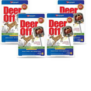 Havahart 4 Packages Deer Off 6 Count Per Package Deer Repellent Cups