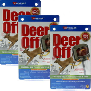 Havahart 3 Packages Deer Off Deer Repellent Stations