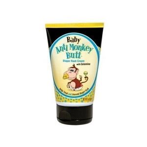 Baby Anti Monkey Butt 00031 Diaper Rash Cream with Zinc Oxide & Calamine 3 oz