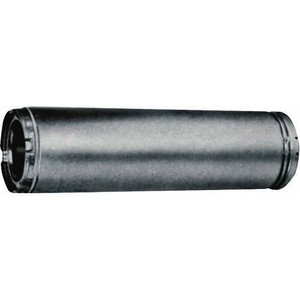 """American Metal 6"""" x 36"""" Insulated Triple Wall Chimney Stove Pipe"""