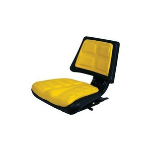 Trapezoid Back Universal Seat with Slide Tracts and Mounting Brackets