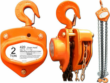 American Power Pull 420 Chain Block, 2-Ton Hoist