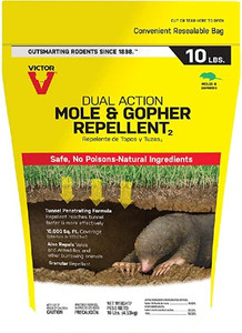 Victor Mole and Gopher Repellent 10 lb Bag 10000 sq ft Coverage