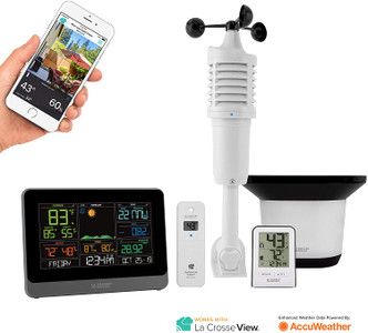 La Crosse Technology V40-PRO Wireless Professional Weather Station