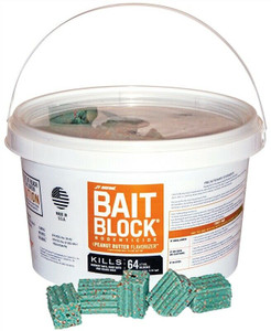 JT Eaton Peanut Butter Bait Block for Rats and Mice (704-PN)