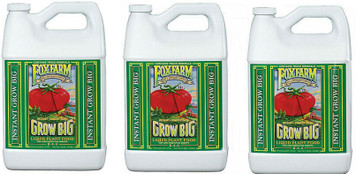 Fox Farm Gal Grow Big Liquid Plant Food 3pk 790300