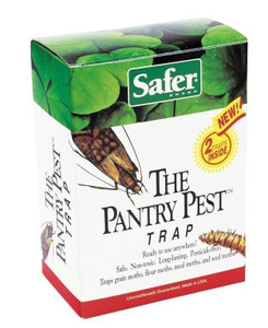 Safer Brand The Organic Pantry Pest Trap Moths & Flying Insects 05140