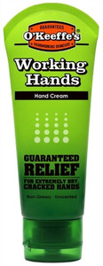 O'Keeffe's Working Hands Hand Cream, 3oz Tube.