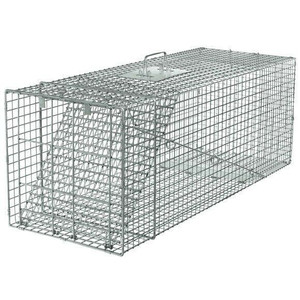 Havahart 1081 Large Live Animal Trap - 1 Door Raccoon Trap / Cage