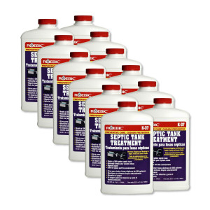 Roebic - 12pk K-37 Q-12 Septic Tank Treatment 32 Ounces (1 Quart) Each