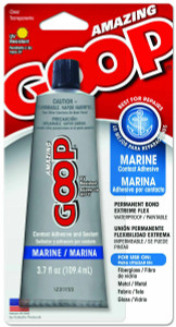 Eclectic Products Amazing Marine Goop Adhesive Sealant 3.7oz Clear