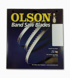 "Olson  Band Saw Blade 93-1/2"" Long x  3/16"" Wide .025"" Thick 10 TPI"
