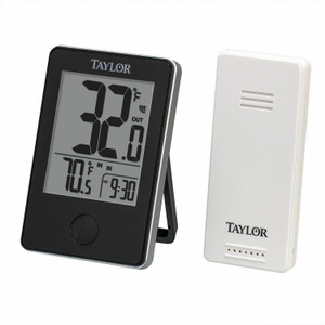 Taylor Precision 1730 Wireless Indoor And Outdoor Thermometer