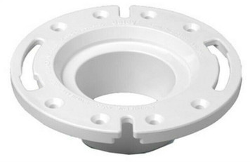 "Oatey 43539 4"" PVC Replacement Closet Flange - Replaces Cast Iron Closet Flanges"