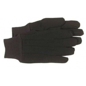 Boss 4020 General Purpose Brown Jersey Gloves Large 1 Pair