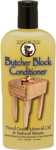 Howard Products Butcher Block Conditioner Oil 12oz (133mL)