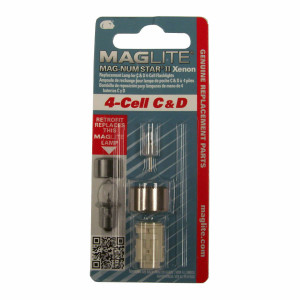 Maglite LMXA401 Magnum Star II Xenon 4Cell C&D Bulb - Replacement Part