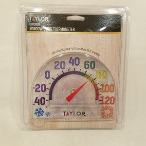 Taylor 91157  Seasons Design Window Cling Thermometer