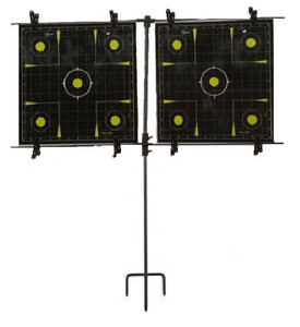 Allen Co 1529 Steel Frame Paper Target Stand w/ 8 Clips