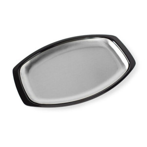 Nordic Ware 36512 Family Size Stainless Steel Grill & Serve Platter