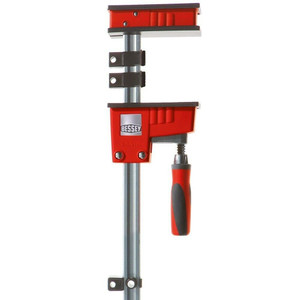 """Bessey Tools KRE3.560 Large 60"""" K Body Revo Fixed Jaw Parallel Clamp 90 Degrees"""