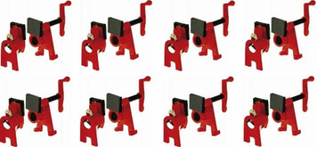 Bessey BPC-H12 X 8 Lot of 8 H-Style Woodworking Pipe Clamps