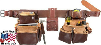 Occidental Leather OL5080DBMD Pro Framer Set w/ Double Outer Bags Size MD