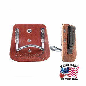 Occidental Leather 5040 Quality Leather Clip with Steel Hammer Holder
