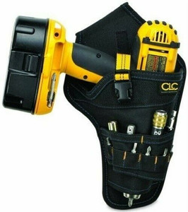 CLC Custom LeatherCraft Cordless Drill Holder Holster Tool Belt Pouch