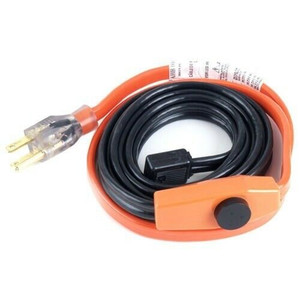Easy Heat AHB-016A 6 Foot Water Pipe Freeze Protection Heating Cable Heat Tape Kit