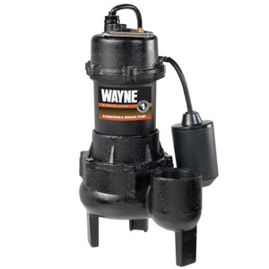 Wayne RPP50 1/2 HP Cast Iron Sewage Pump