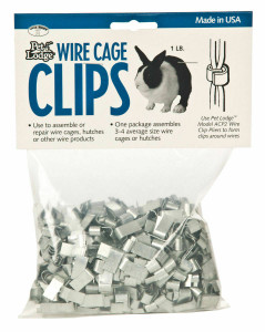 Miller ACC1 Pet Lodge Handy Wire Cage Clips Made in USA