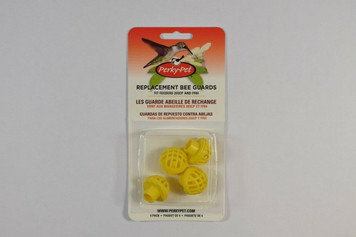 Perky Pet 205Y Yellow Replacement Bee Guards for Nectar Hummingbird Feeders