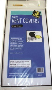 Frost King Frost King MC815/3 Magnetic Ventilation Cover, 8 X 15 In