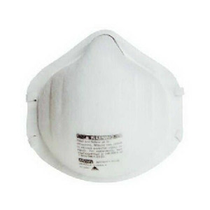 MSA Security 817633 Pack of 2 Safety Dust Mask / Respirator Improved Comfort