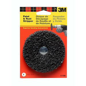 3M 7771 4-Inch Rust And Paint Removal Brush