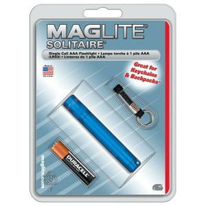 Maglite Solitaire Blue Single Cell AAA Mag Flashlight (K3A116)