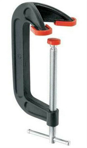 "Bessey Tools DHCC-6 Light Duty Double Anvil 6"" C-Clamp"