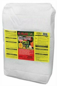 Hi-Yield 32189 Wettable 25lbs Wettable Dusting Sulfur Fungicide Insect Killer