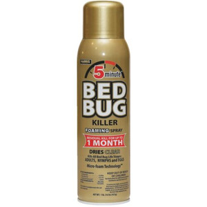 Harris BB-16A Gold 5 Minute Bedbug Killer Foaming Spray.