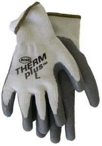 Boss 8435L Large Therm Plus Flexigrip Latex Palm Gloves