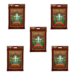 Fox Farm 590016 12qt  Happy Frog Potting Soil 5pk
