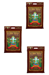 Fox Farm 590016 12qt  Happy Frog Potting Soil 3pk