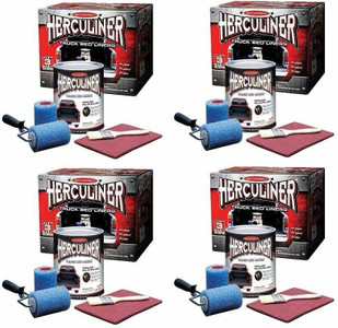 Herculiner Truck Bed Liner Kit 4-Gallons Complete Kits