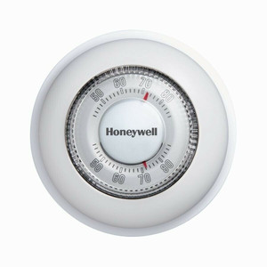 Honeywell CT87N1001/E1 Basic Manual Round Thermostat