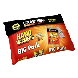 Grabber Big Pack 10 Pairs of Hand Warmers HWPP10